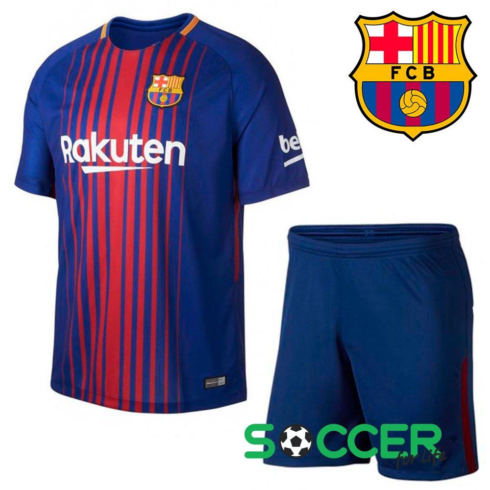 Футбольная форма Барса Барселона месси неймар детская детский размер ... 81ddb5c4fe4