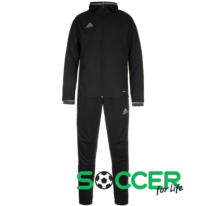 6daea5944a73 Спортивный костюм Adidas Condivo 16 Presentation Suit S93519 цвет  черный  мужской