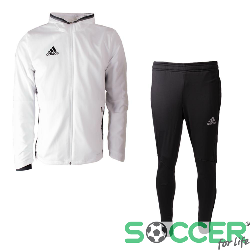 2d937a40 Спортивный костюм Adidas Condivo 16 Presentation Suit S93520 цвет:  белый/черный мужской