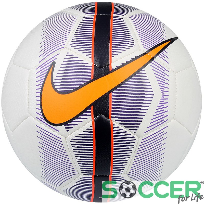 Мяч футбольный Nike MERCURIAL VEER SC3022-102 белый синий. Размер 3 24e63c66268