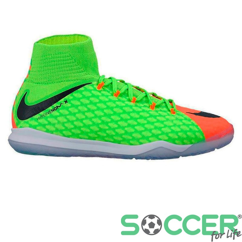 15ae1e3e Обувь для зала (футзалки Найк) Nike HypervenomX Proximo II DF IC 852602-308