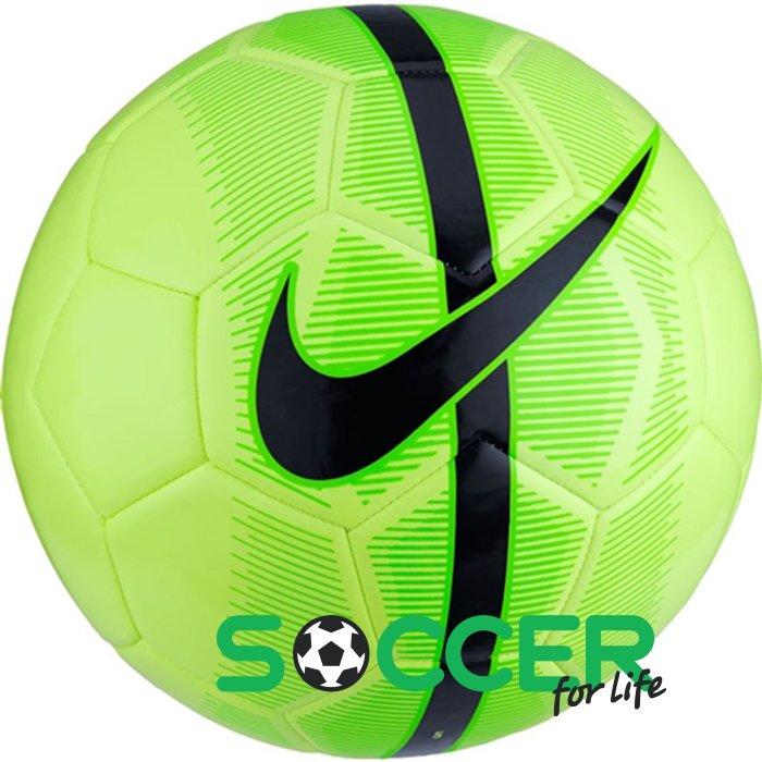 Мяч футбольный Nike MERCURIAL FADE SC3023-367 салатовый. Размер 3 ca0eeb09067