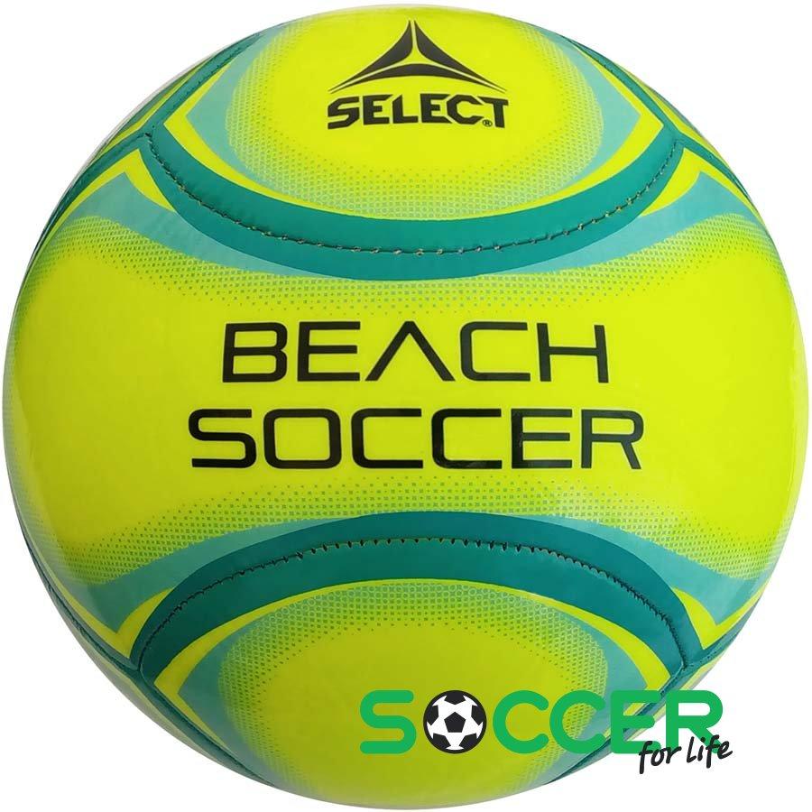 Мяч футбольный SELECT BEACH SOCCER размер 5 цвет  салатовый de9ef6c3d8d