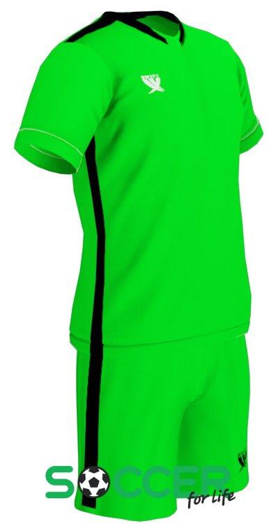 17998ea38bd6 Форма футбольная Swift Prioritet детская цвет  зеленый черный
