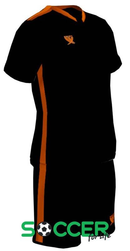 8aaf4b3cc32f Форма футбольная Swift Prioritet детская цвет  черный оранжевый