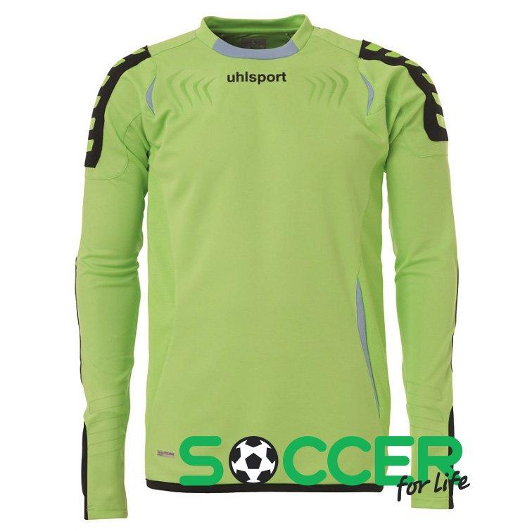 8695df7a Вратарский свитер Uhlsport ERGONOMIC Goalkeeper Shirt long-sleeved  100553903 с длинным рукавом Цвет: салатовый