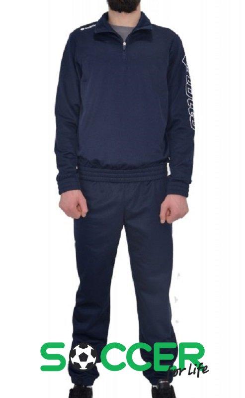 8c2f668a1733 Спортивный костюм Lotto SUIT ZENITH PL HZ CUFF Q8153 цвет: темно-синий