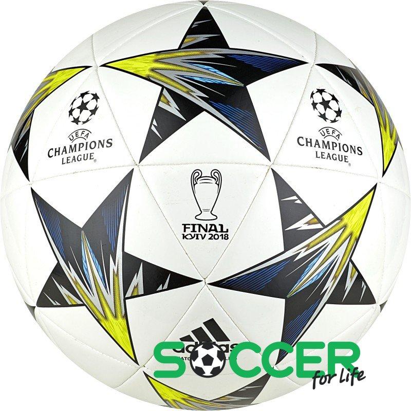 e31efd9eed93 Мяч футбольный Adidas Finale Kiev Capitano CF1197 цвет  белый размер 5