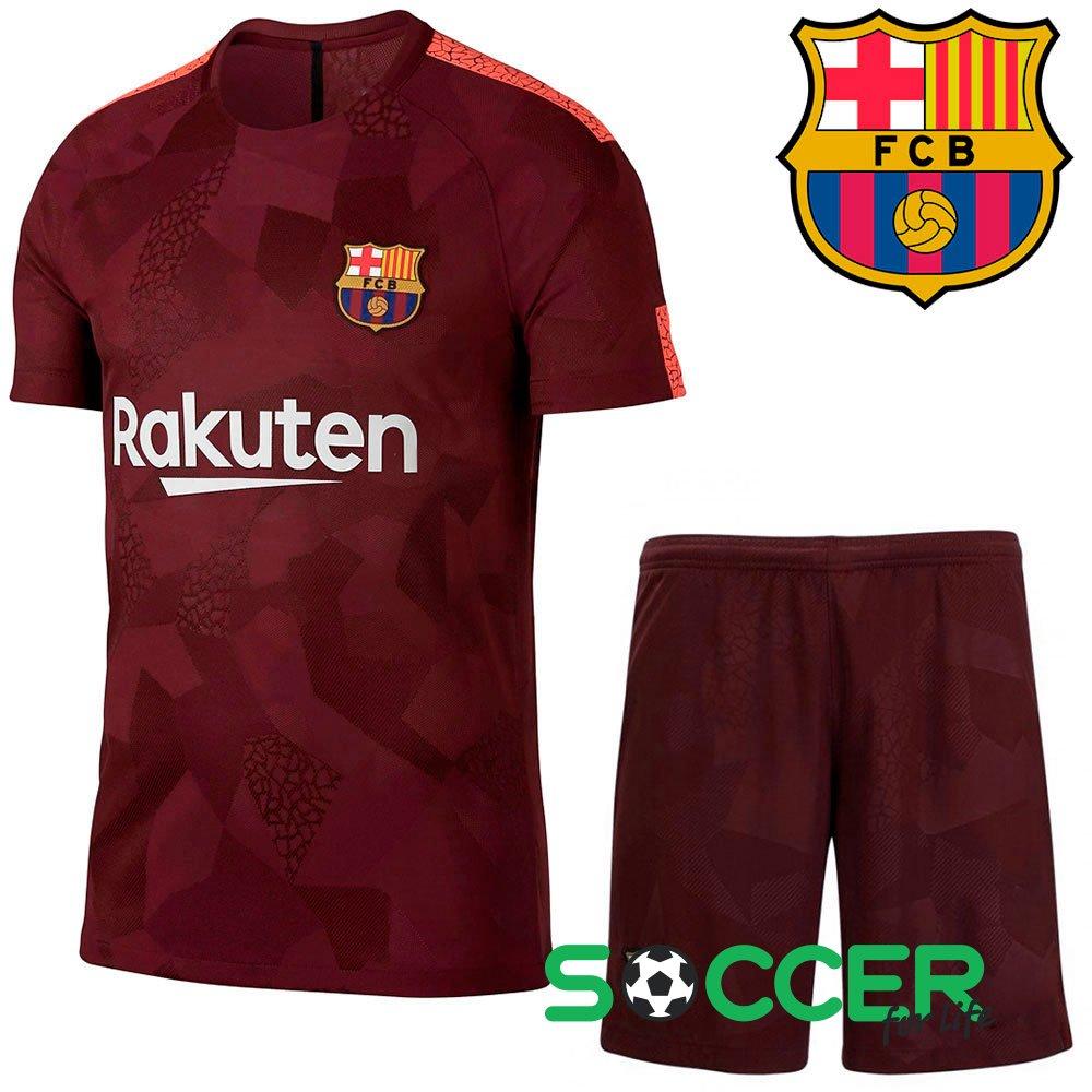 aa054553381e Футбольная форма детская Barcelona (Барселона) 2017-2018 Messi (Месси) №10  цвет  бордовый