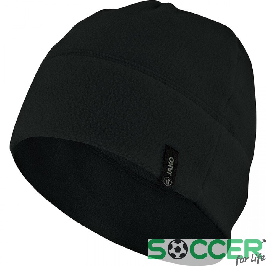 Купить Шапка флисовая Jako Fleece Beanie 1221-08 цвет  черный в ... ae8996c9c16c9