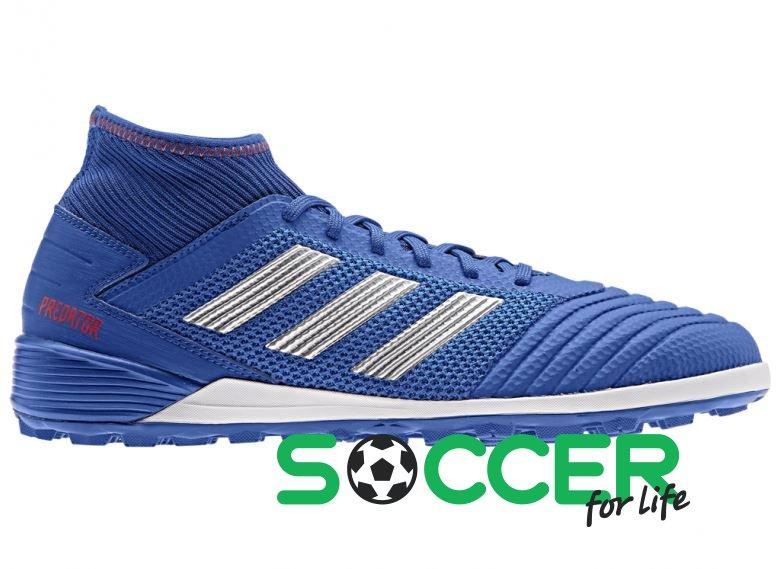 2016e3a1 Многошиповки для футбола (сороконожки) Adidas PREDATOR 19.3 TF BB9084 цвет:  синий