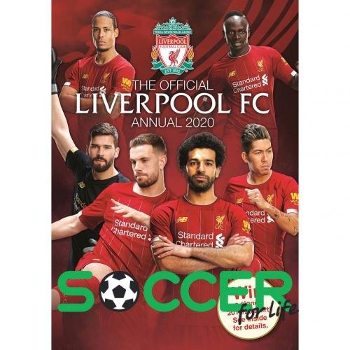 Kniga Liverpul Liverpool F C Annual 2020 43216 Kupit V Soccer Shop Futbolnyj Internet Magazin