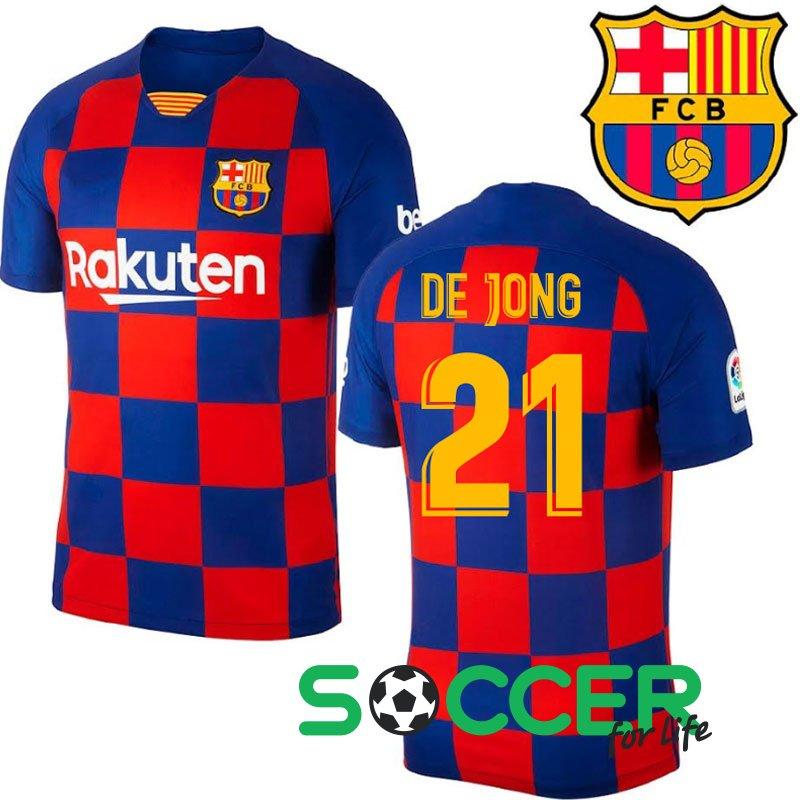 Futbolnaya Forma Barcelona 21 De Jong Domashnyaya 2020 44311 Kupit V Soccer Shop Futbolnyj Internet Magazin
