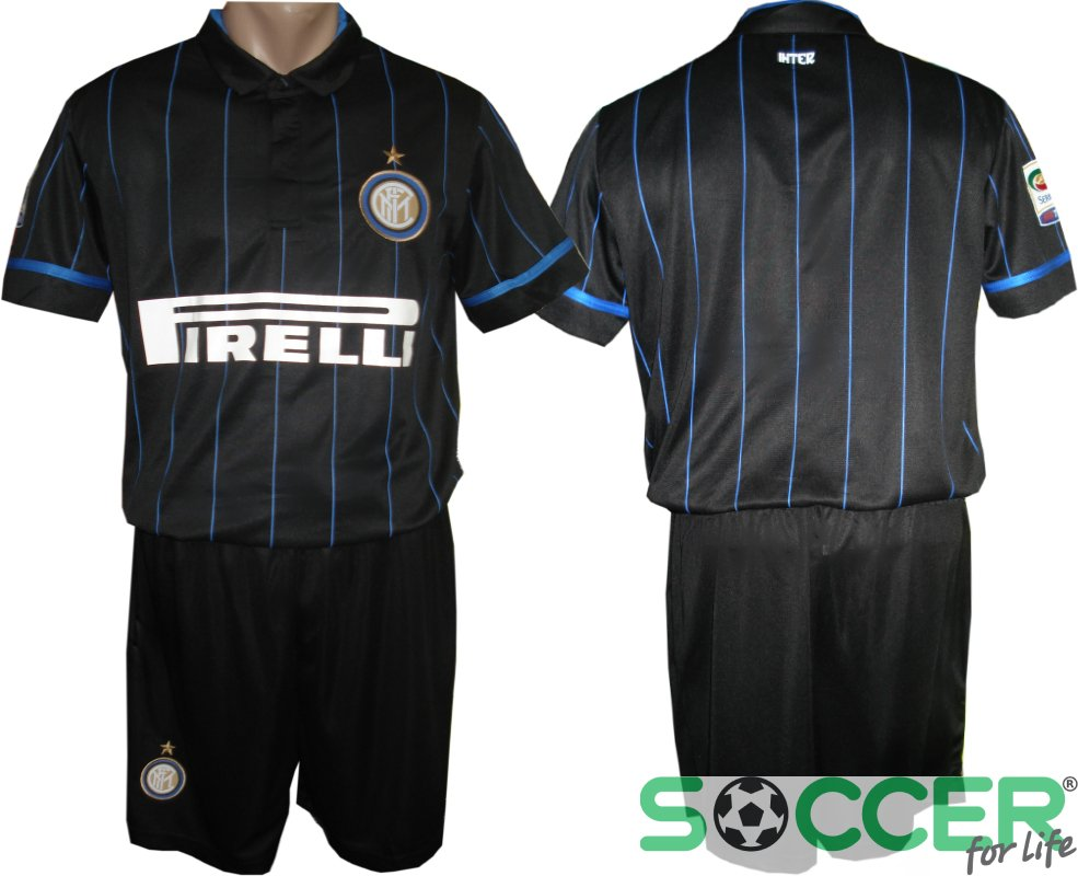 Футбольная форма Интер (Inter) 2015 РАСПРОДАЖА цвет  черная e70d8014fc9