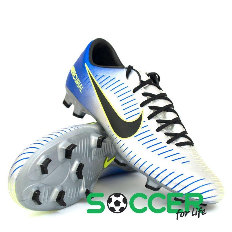 995b7a7fc6a Бутсы Nike Mercurial Victory VI NJR FG 921509-407 цвет  серебристый  (официальная гарантия