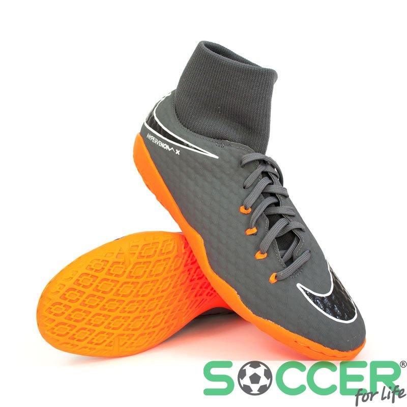 fb4cd133f0aa44 Обувь для зала (футзалки) Nike HypervenomX Phantom 3 Academy DF IC AH7274- 081