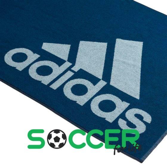 07a8fd15ca7ff9 Купить Полотенце Adidas Swim Towel L DQ1813 цвет: темно-синий в ...