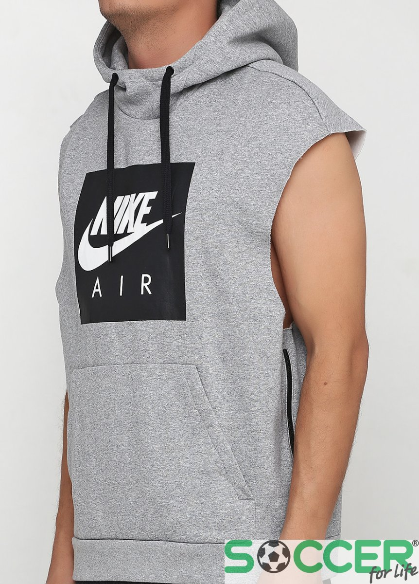 Nike Air Felpa Uomo Con Cappuccio Senza Maniche 928645-051