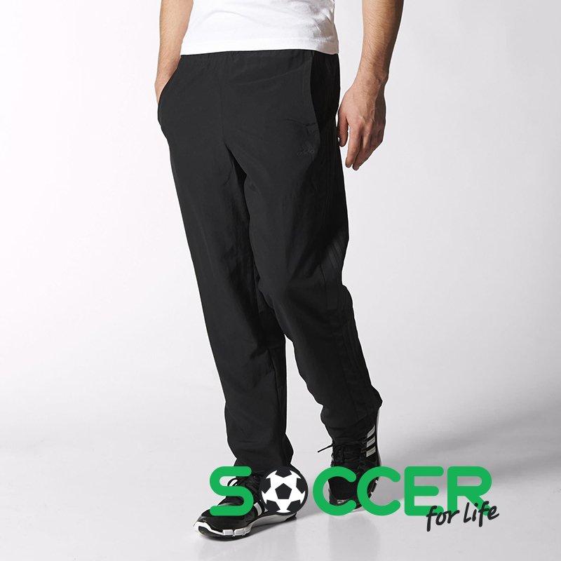 7888d90b Штаны тренировочные Adidas ESSENTIALS 3S WV PANT S17892 цвет: черный
