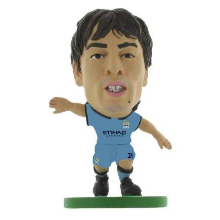 Фигурка футболиста Манчестер Сити Manchester City F.C. SoccerStarz Silva