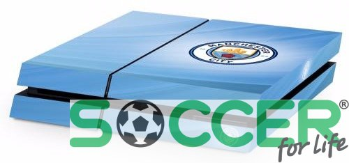 Наклейка из винила на PS4 Manchester City F.C. Манчестер Сити