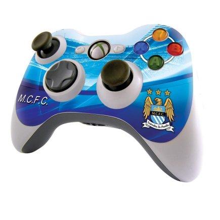 Наклейка из винила на джойстик Xbox 360 Manchester City F.C. Манчестер Сити