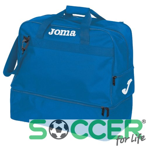 Сумка спортивная Joma Training 400007.700 средняя синяя
