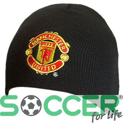 Шапка трикотажная Manchester United F.C. Knitted Hat BLK