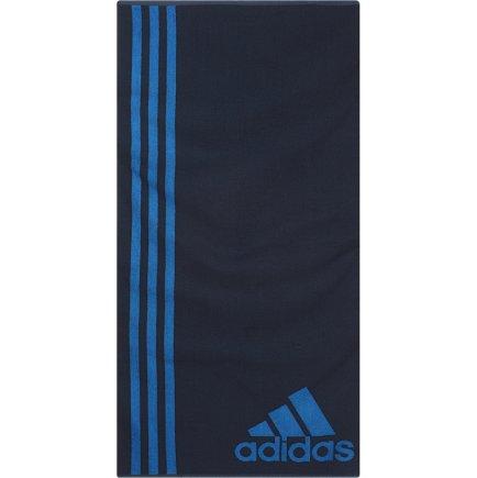 223f6626cfc7e7 Полотенце Adidas TOWEL L AJ8695 цвет: темно-синий/синий