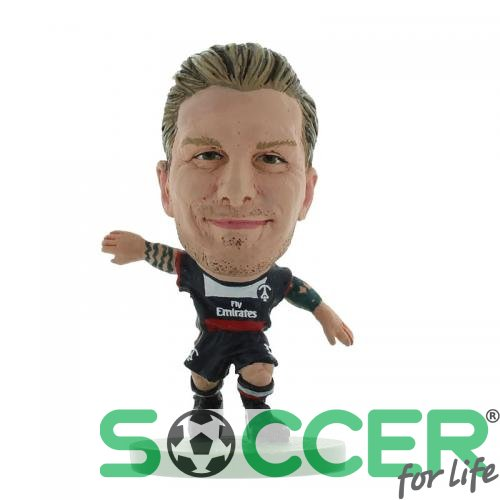 Фигурка футболиста ПСЖ Paris Saint Germain F.C. SoccerStarz Beckham