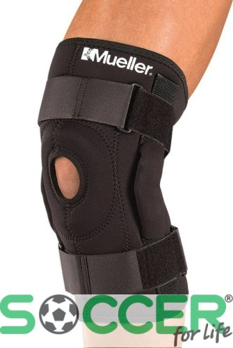 Бандаж на колено Mueller Hinged Knee Brace - with Universal Buttress 2333