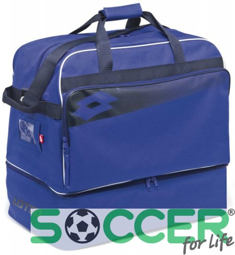 Сумка спортивная Lotto BAG SOCCER OMEGA II cиняя