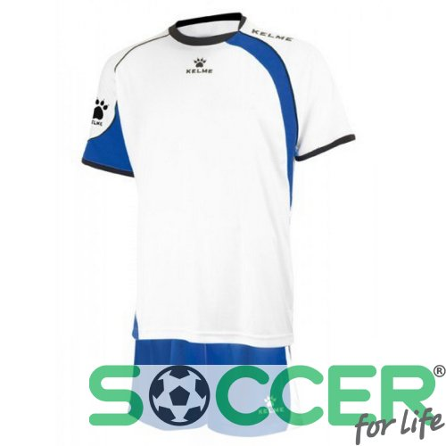 Футбольная форма Kelme SET CARTAGO 78411 цвет: белый/синий