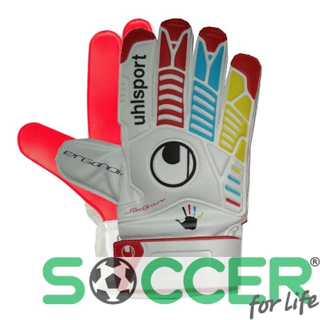 Вратарские перчатки Uhlsport ERGONOMIC STARTER SOFT EURO 2012 POLAND-UKRAINE 100034301