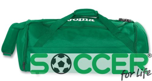 Сумка Joma TRAVEL II 400002.450 цвет: зеленый