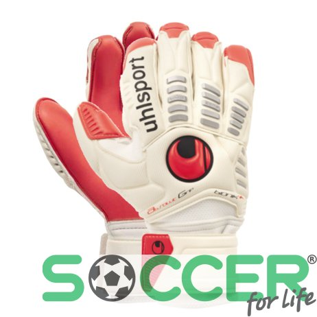 Вратарские перчатки Uhlsport ERGONOMIC Absolutgrip Bionik+ (red palm) 100032101
