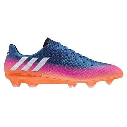 79253c82 Бутсы Adidas MESSI 16.1 FG BB1879 цвет: синий/розовый/оранжевый  (официальная гарантия