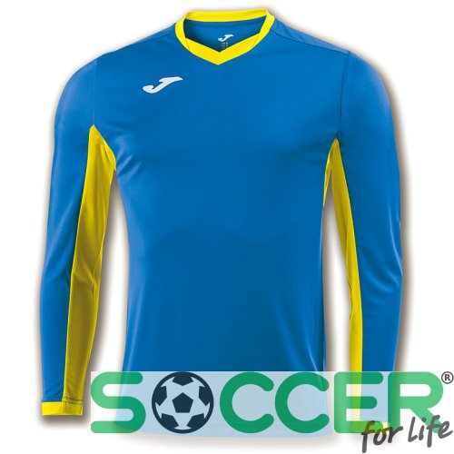 Футболка ігрова Joma Champion IV 100779.709 колір: блакитний