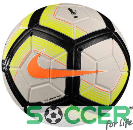 77054a21 Мяч футбольный Nike TEAM FIFA NK MAGIA SC3253-100 цвет: белый/чёрный/
