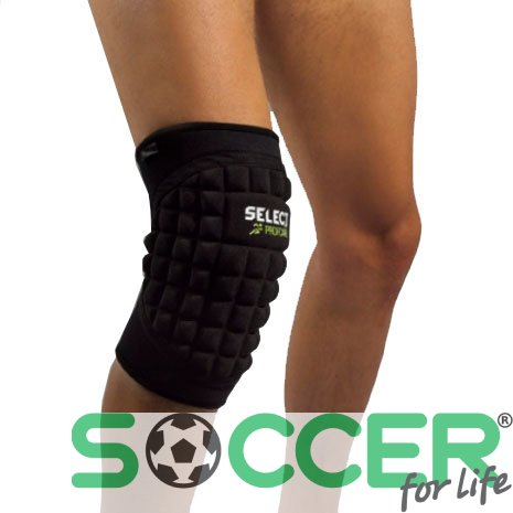 Наколенник SELECT Knee Support with large pad 6205 (1шт)