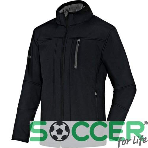 Куртка Jako Softshell Jacket Team 7611-08 цвет: черный
