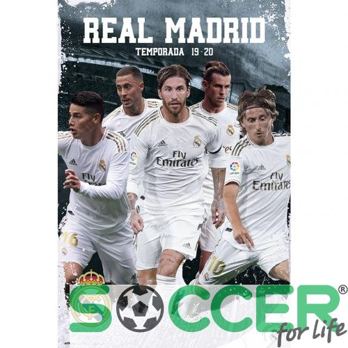 Постер Реал Мадрид Real Madrid FC Poster Players 25