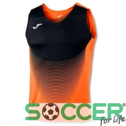 Майка Joma T-SHIRT ELITE VI ORANGE-BLACK SLEEVELESS 100950.051