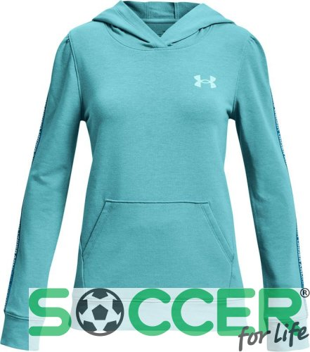 Худи Under Armour  Rival Terry Hoodie-BLU 1361197-476 детское