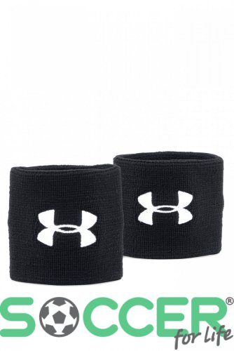 Напульсник Under Armour Performance Wristbands-BLK 1276991-001