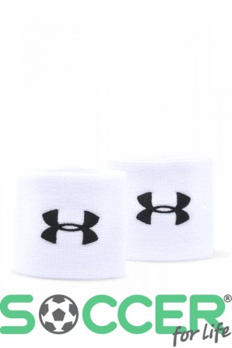 Напульсник Under Armour Performance Wristbands-WHT 1276991-100