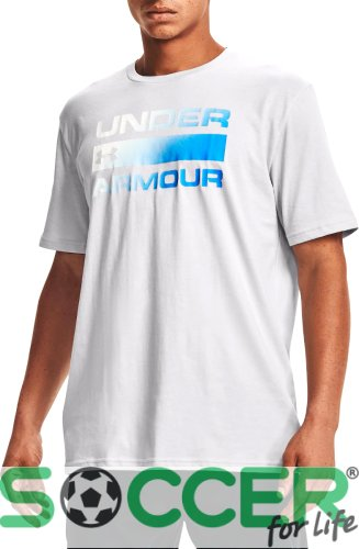Футболка Under Armour TEAM ISSUE WORDMARK SS-GRY 1329582-015
