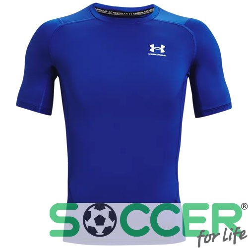 Футболка Under Armour HG Armour Comp SS-BLU 1361518-400