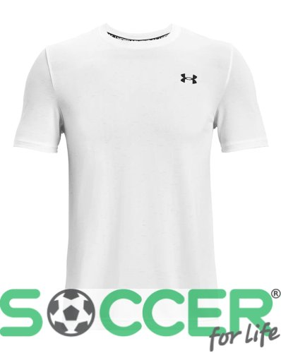 Футболка Under Armour Seamless SS-WHT 1361131-100
