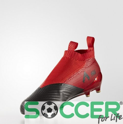 012eec8b Бутсы Adidas ACE 17+ PURECONTROL FG BB4314 цвет: красный/черный  (официальная гарантия. ‹ ›